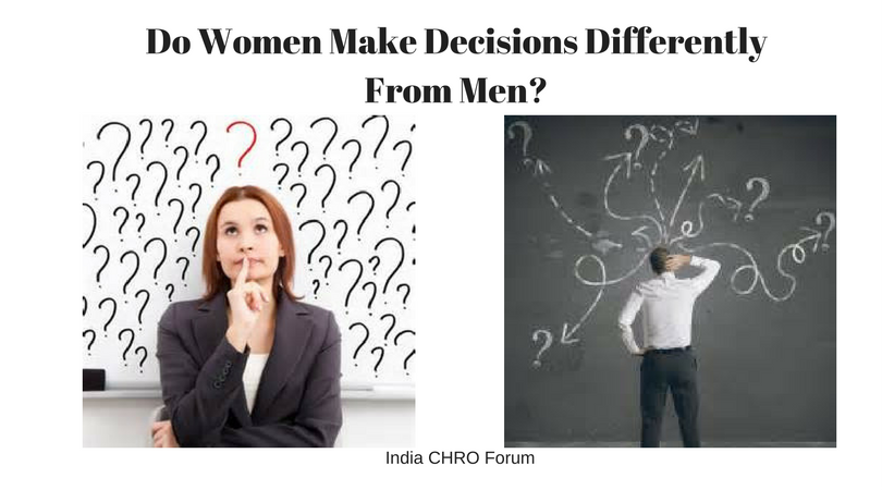 Do Women Make Decisions Differently From Men?
