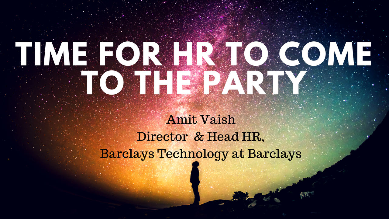 Time For HR To Come To The Party